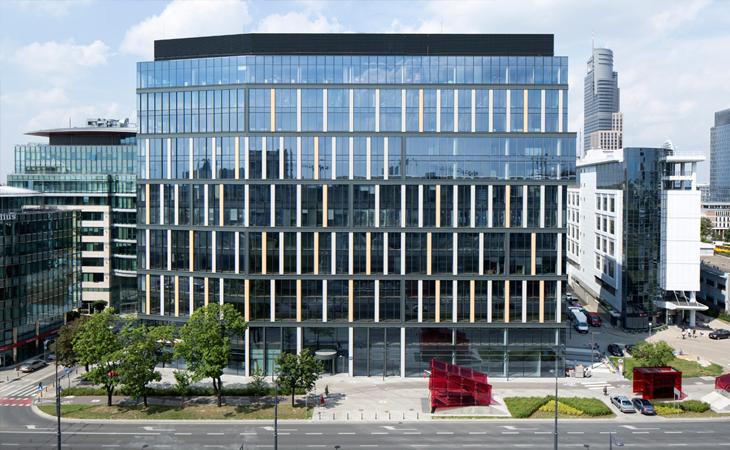 Warszawa, budynek Proximo